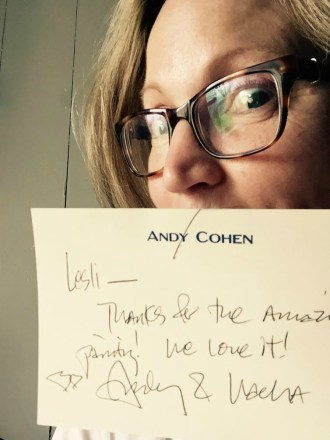 THANK YOU NOTE FROM ANDY!