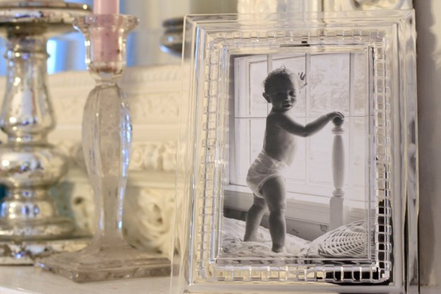 BABY COOPER IN THE FANCY FRAME