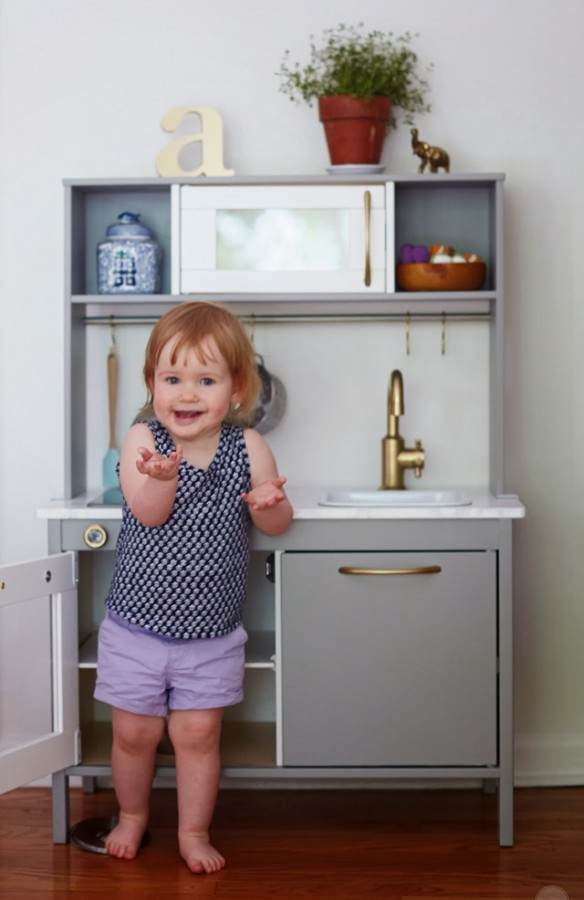 BECAUSE ITS AWESOME - KITCHE REVEAL AND LITTLE AVA STOLE MY HEART!