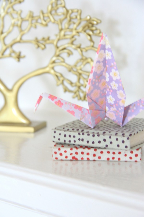 ORIGAMI ON THE MANTLE