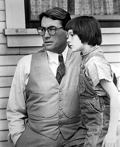 ATTICUS AND SCOUT - TO KILL A MOCKINGBIRD
