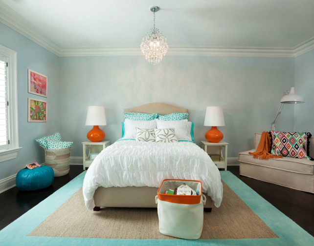 The lake colors for Benjamin moore turquoise colors