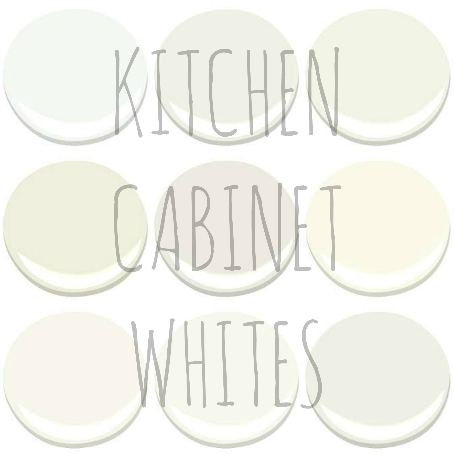 BENJAMIN MOORE - KITCHEN CABINET WHITES - CHANTILLY LACE CLOUD NINE CLOUD WHITE  sc 1 st  My Old Country House & CHOOSING A WHITE FOR YOUR KITCHEN u2013