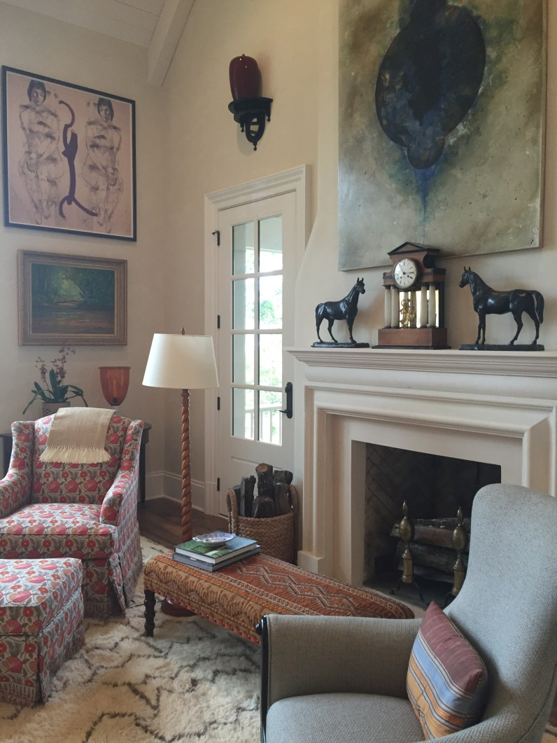 THIS CHAIR WAS CALLING MY NAME! 2015 SOUTHERN LIVING IDEA HOUSE IN CHARLOTTESVILLE, VA.