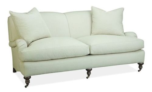 Arms and seats and legs and skirts sofas 101 for Phoebe corner sofa