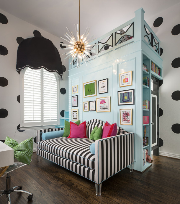 IBB DESIGN - KATE SPADE TWEEN BEDROOM