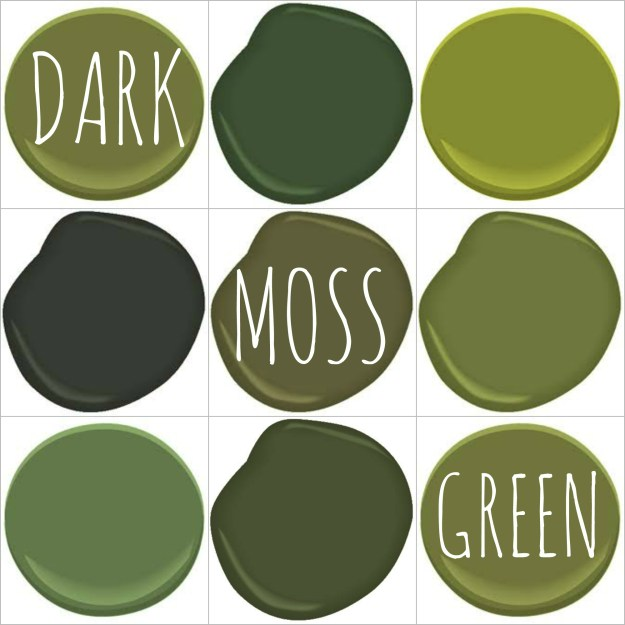 Colors That Go With Moss Green