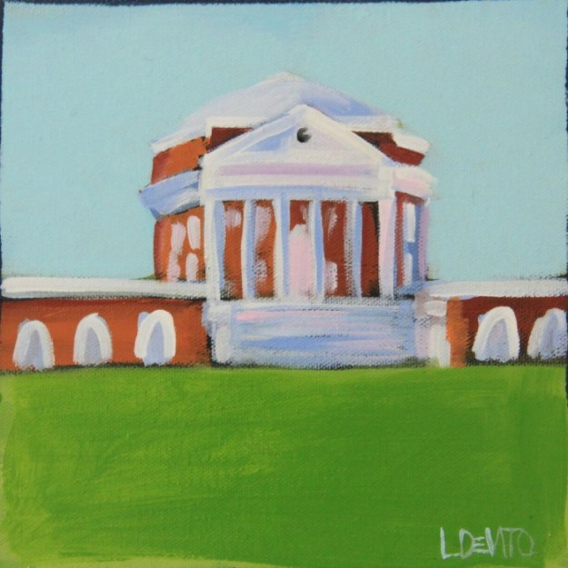 ROTUNDA PAINTING SKY BLUE