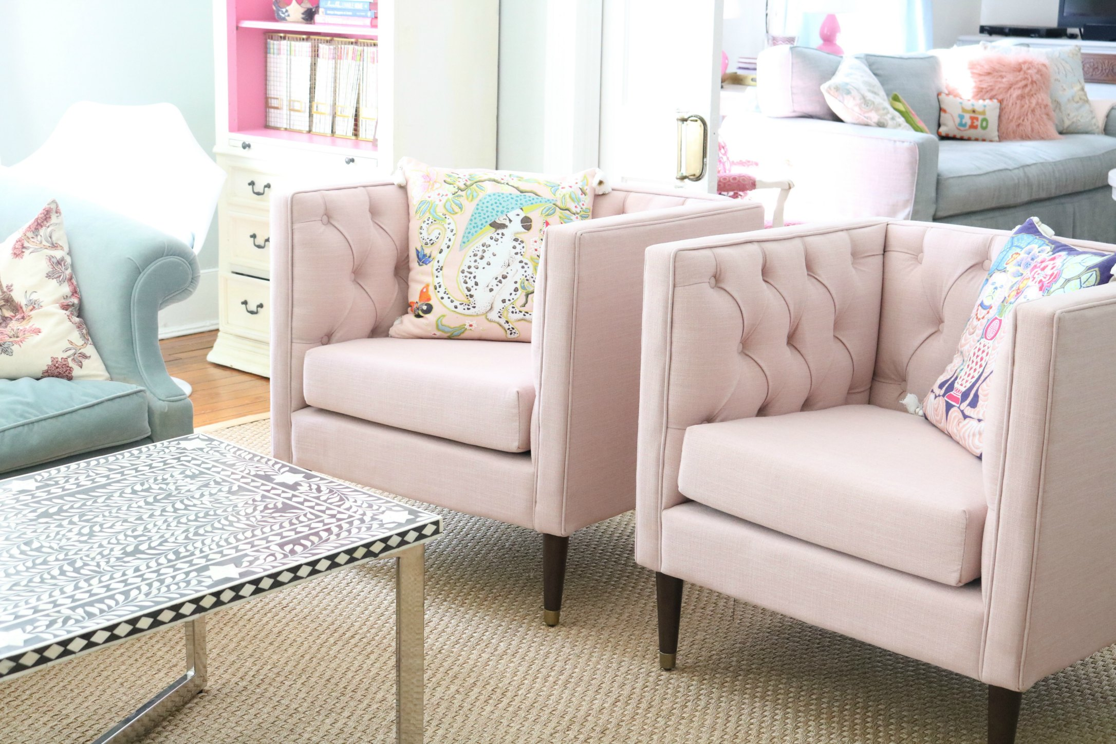 MY NEW PINK CHAIRS U2013 NATE BERKUS FOR TARGET