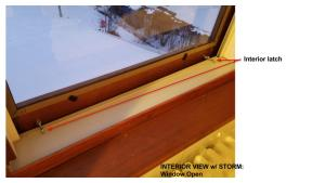 Wood Storm Window