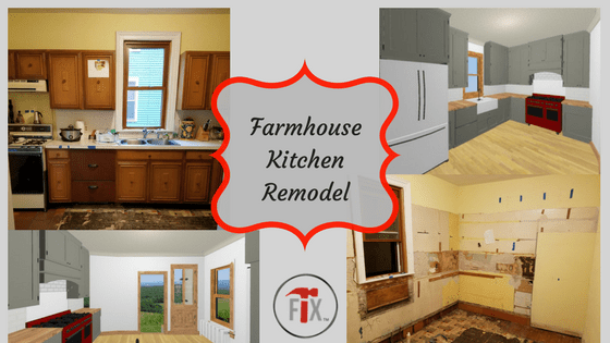 Farmhouse Kitchen Remodel: Part 3 – Execution, Phase I