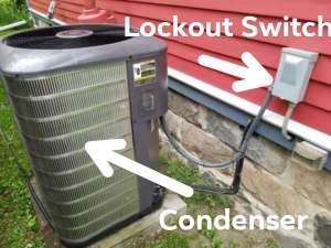 Air Conditioner Repair - Lockout Switch