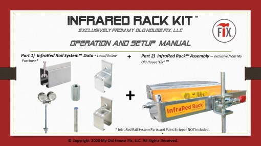InfraRed Rack Kit by My Old House Fix