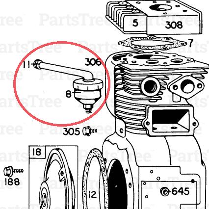 Mcculloch Mite-E-Lite Generator with a Briggs and Stratton