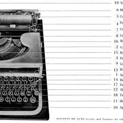 Manual Typewriter Diagram 1999 Ford Explorer Fuse The Handy Olivetti Studio 42