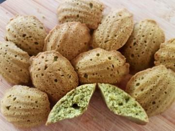 matcha-madeleines