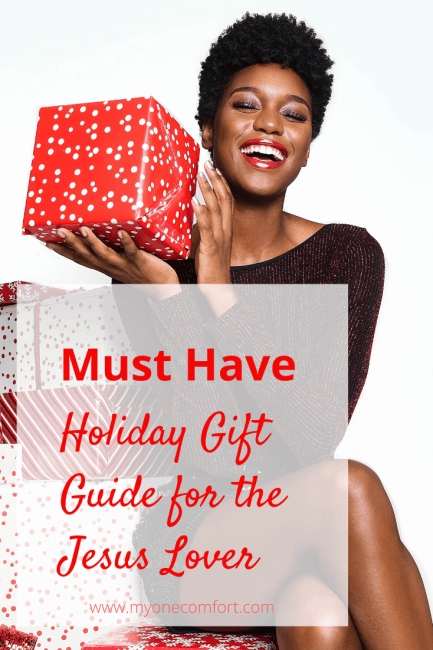 Must Have Holiday Gift Guide for the Jesus Lover