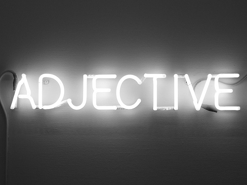 adjectives and goals my