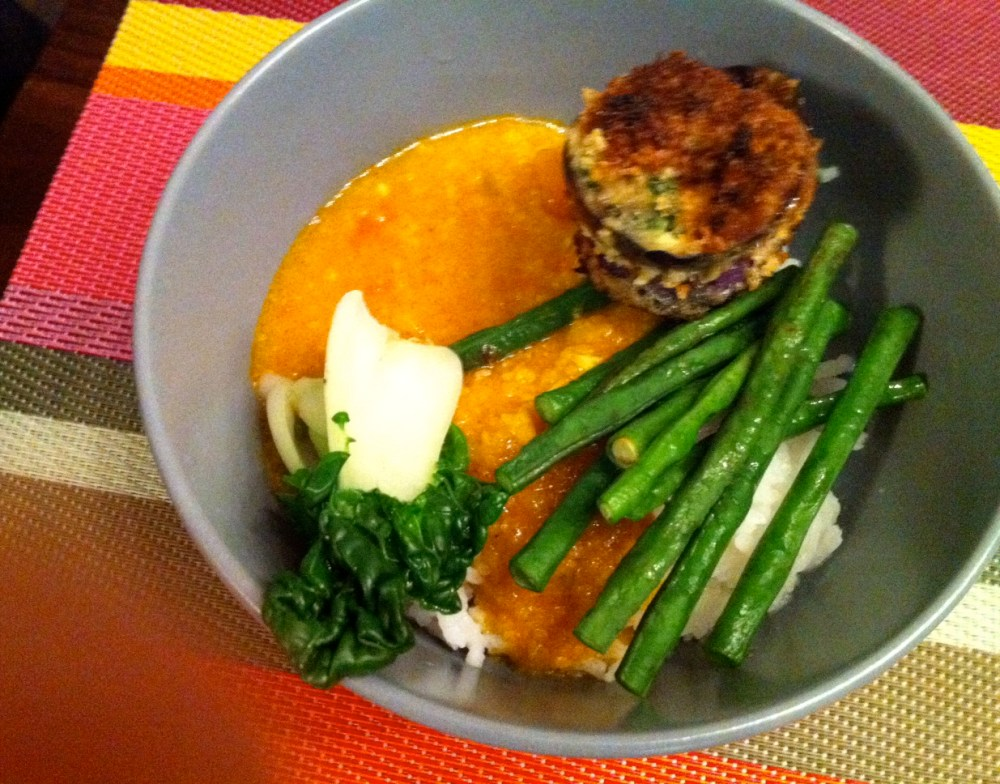 A Vegetarian Kare-Kare and A Truce with Eggplants (1/3)