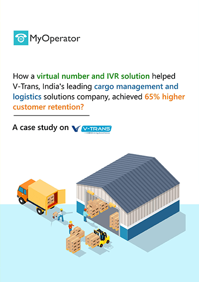 V-Trans success story with MyOperator cloud telephony solutions