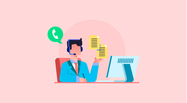 Cold calling tip #1 - Let your pitch do the talking [Illustration by MyOperator]