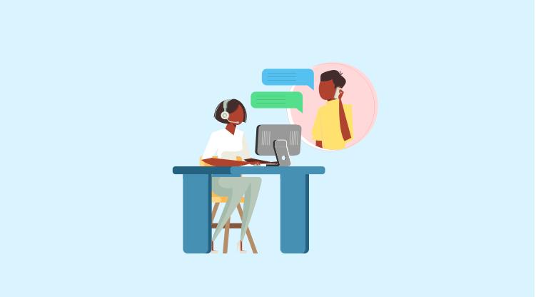 Cold calling tip #14 - Listen more, talk less! [Illustration by MyOperator]