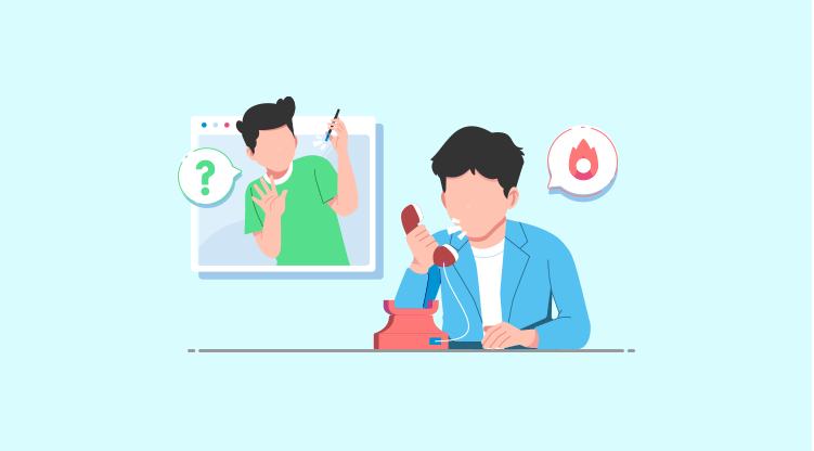 Cold calling tip #18 - Listen to them enough [Illustration by MyOperator]
