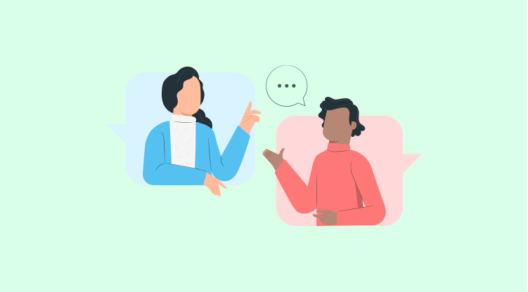 Cold calling tip #5 - Say more with few words [Illustration by MyOperator]