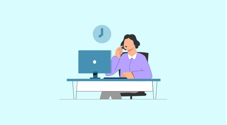 Cold calling tip #6 - Be strategic about timing [Illustration by MyOperator]