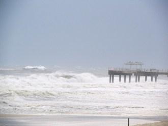 Orange Beach Isaac Photos_Storm Surf