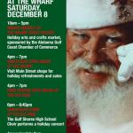 The Wharf Christmas Open House Saturday Dec 8