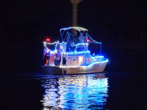 2014 Christmas Lighted Boat Parade Gulf Shores Orange Beach