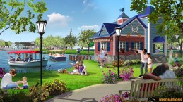OWA Entertainment Complex island-boathouse