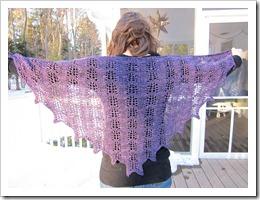 wysteria shawl