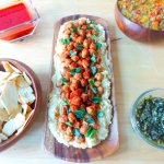 HUMMUS AND CHICKPEAS TOPPING