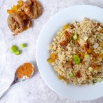 FIG AND RAISINS QUINOA COUSCOUS