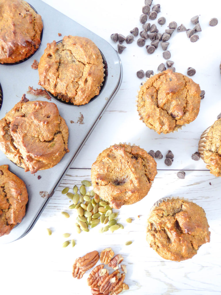 BANANA MUFFINS - VEGAN SUPER EASY 1 BOWL RECIPE FOR EVERYDAY