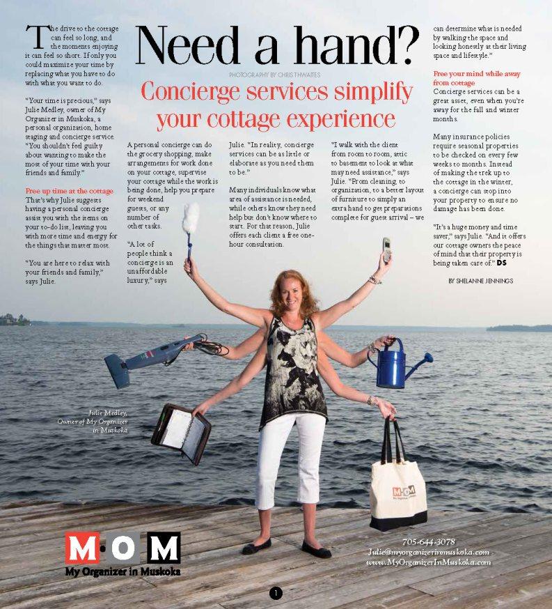 Dockside Magazine Article