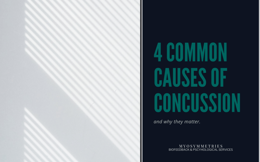 blog banner - 4 common causes of concussion