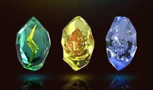 evolution stones