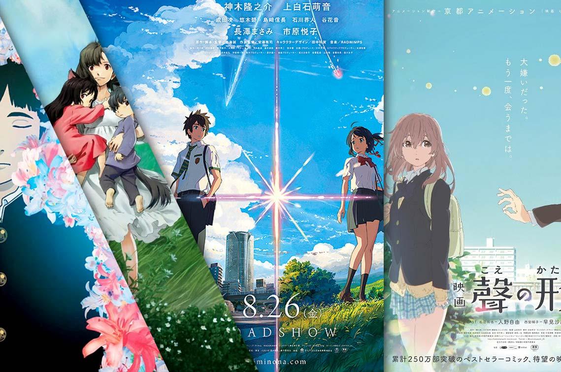 best anime movies