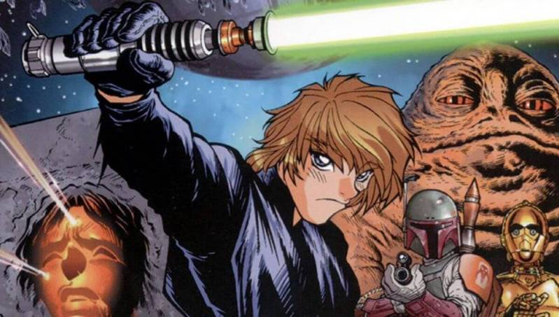 star wars as anime cover