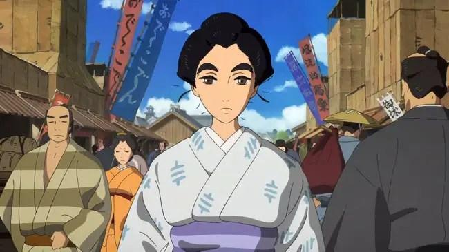 Miss Hokusai Historical Anime