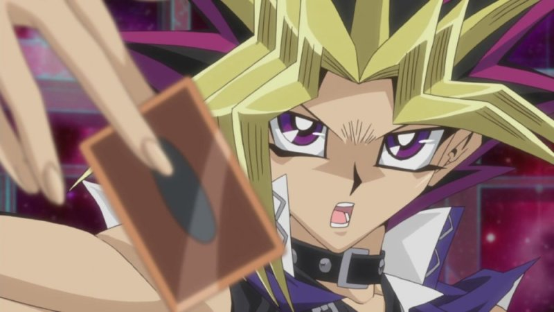 Yu-Gi-Oh! shounen anime
