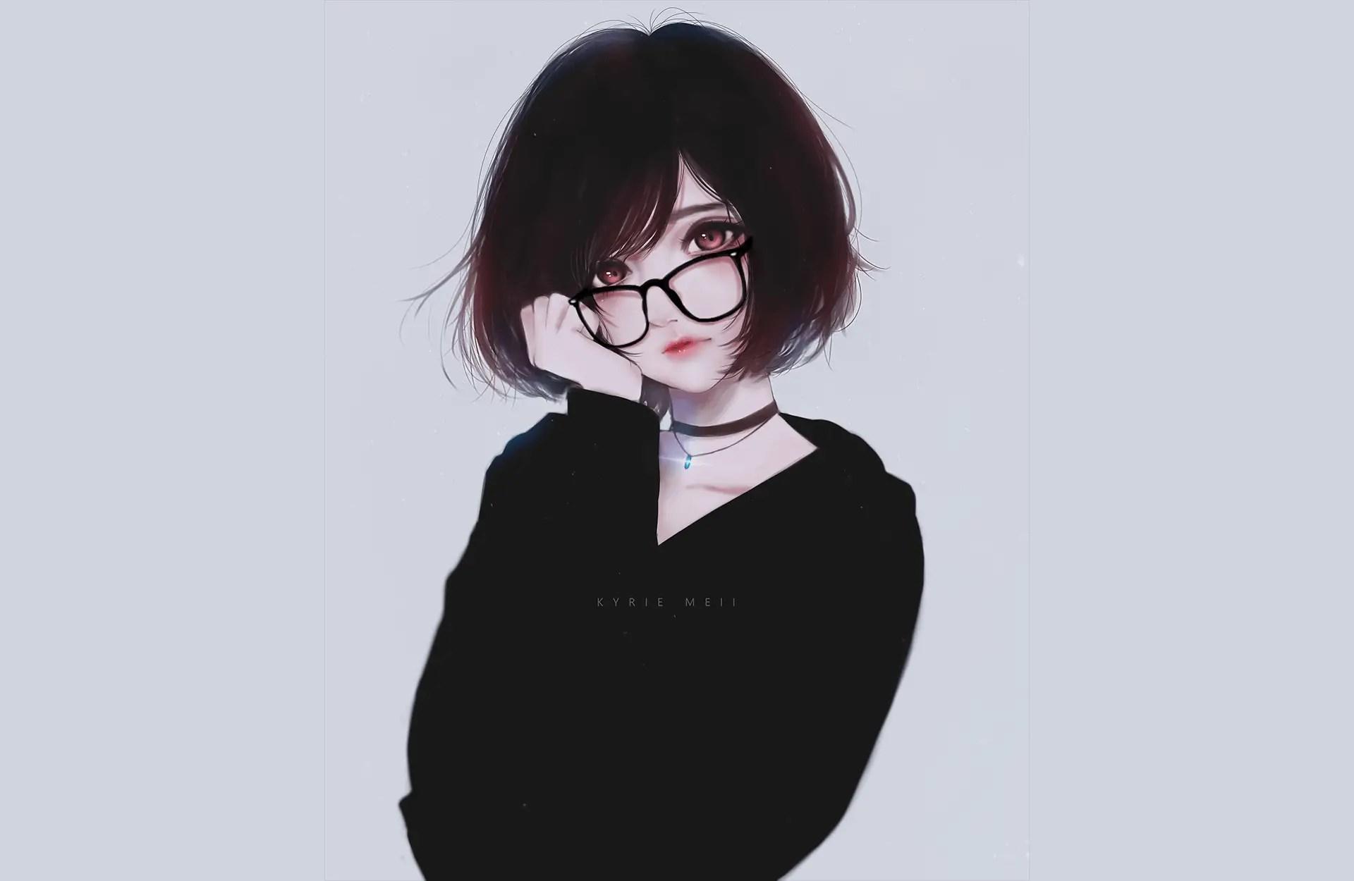 18 Cute Anime Girls With Glasses Chosen by Japan   My Otaku World