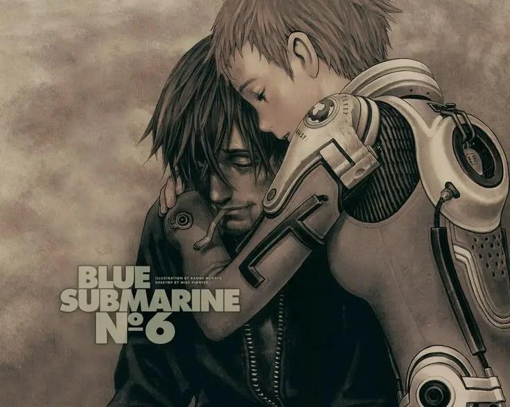 Blue Submarine No. 6 post apocalyptic anime