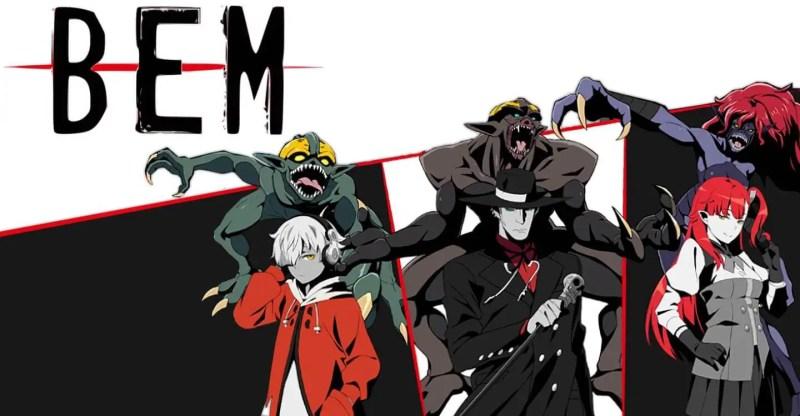 BEM Supernatural Anime
