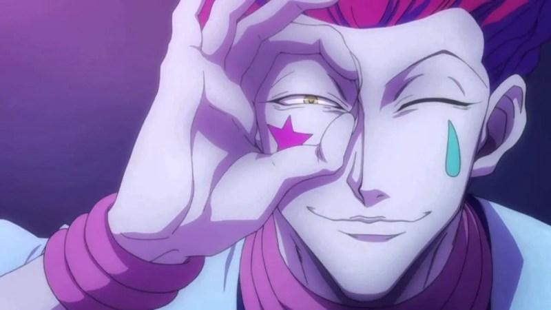Hisoka crazy anime boys