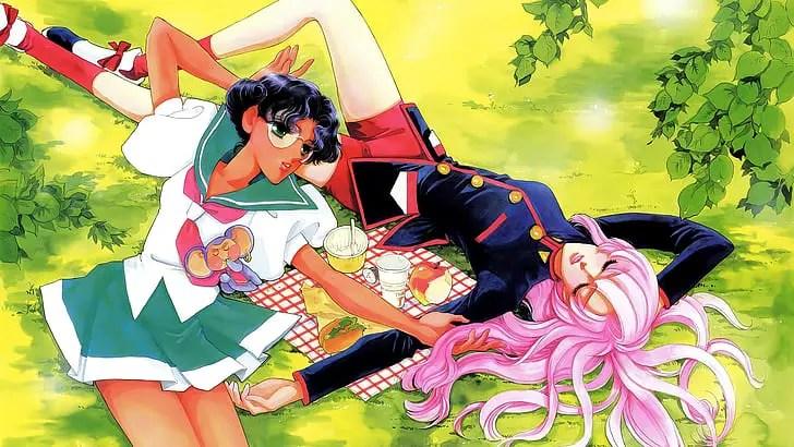 Utena Tenjou and Anthy Himemiya LGBT Anime