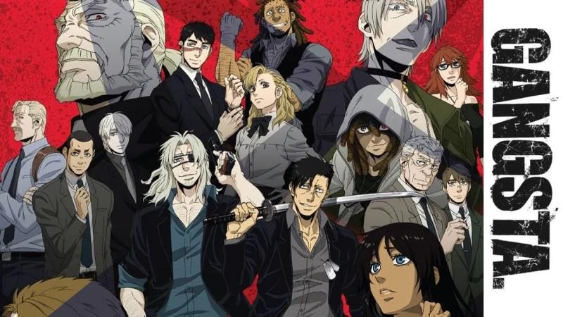 Gangsta mafia anime